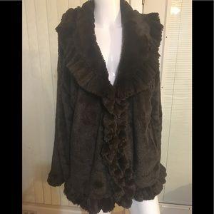 NWOT So soft faux fur jacket
